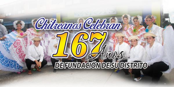 CHITREANOS CELEBRAN 167 AÑOS DE FUNDACIÓN DE SU DISTRITO