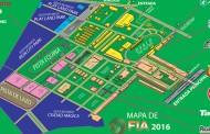MAPA DE LA FERIA INTERNACIONAL DE AZUERO 2016