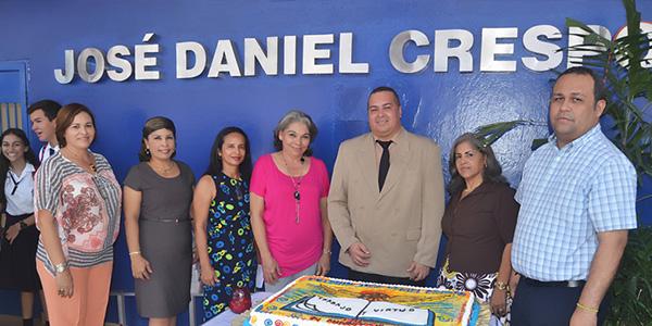 Celebración del 74 Aniversario del Colegio José Daniel Crespo