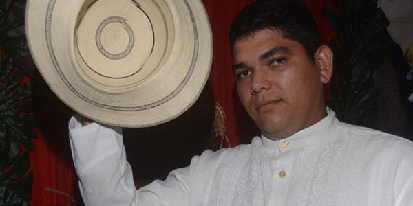 Miguel Charry, Gana el concurso de Sombreo Pintao
