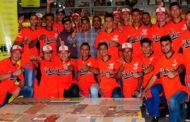 Recepción en Cochez a los equipos juveniles