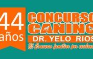 44 años del Concurso Canino Dr. Yelo Ríos