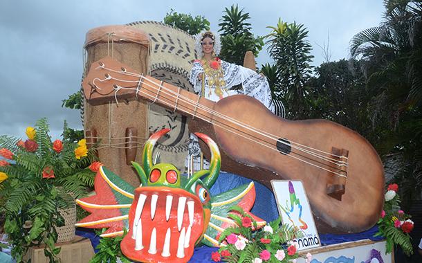 CONCURSO DE CARRETAS Y TUNA DEL FESTIVAL NACIONAL DE LA MEJORANA
