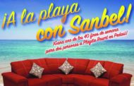 Ve a la playa con Muebles Sanbel