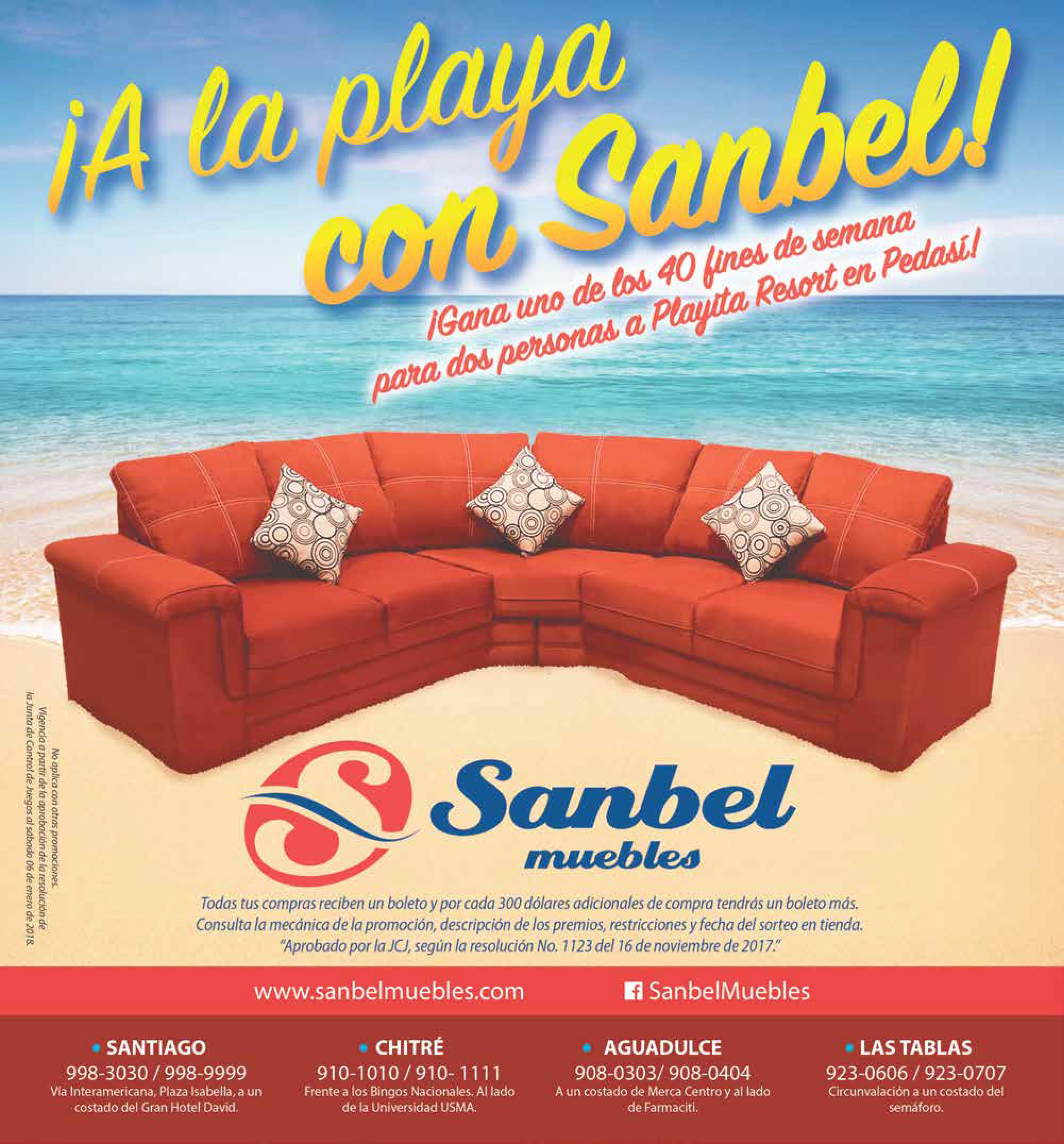 A la playa con Sanbel