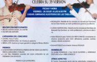 CONCURSO DE VIOLINES CLÍMACO BATISTA DÍAZ CELEBRA SU 39 VERSIÓN