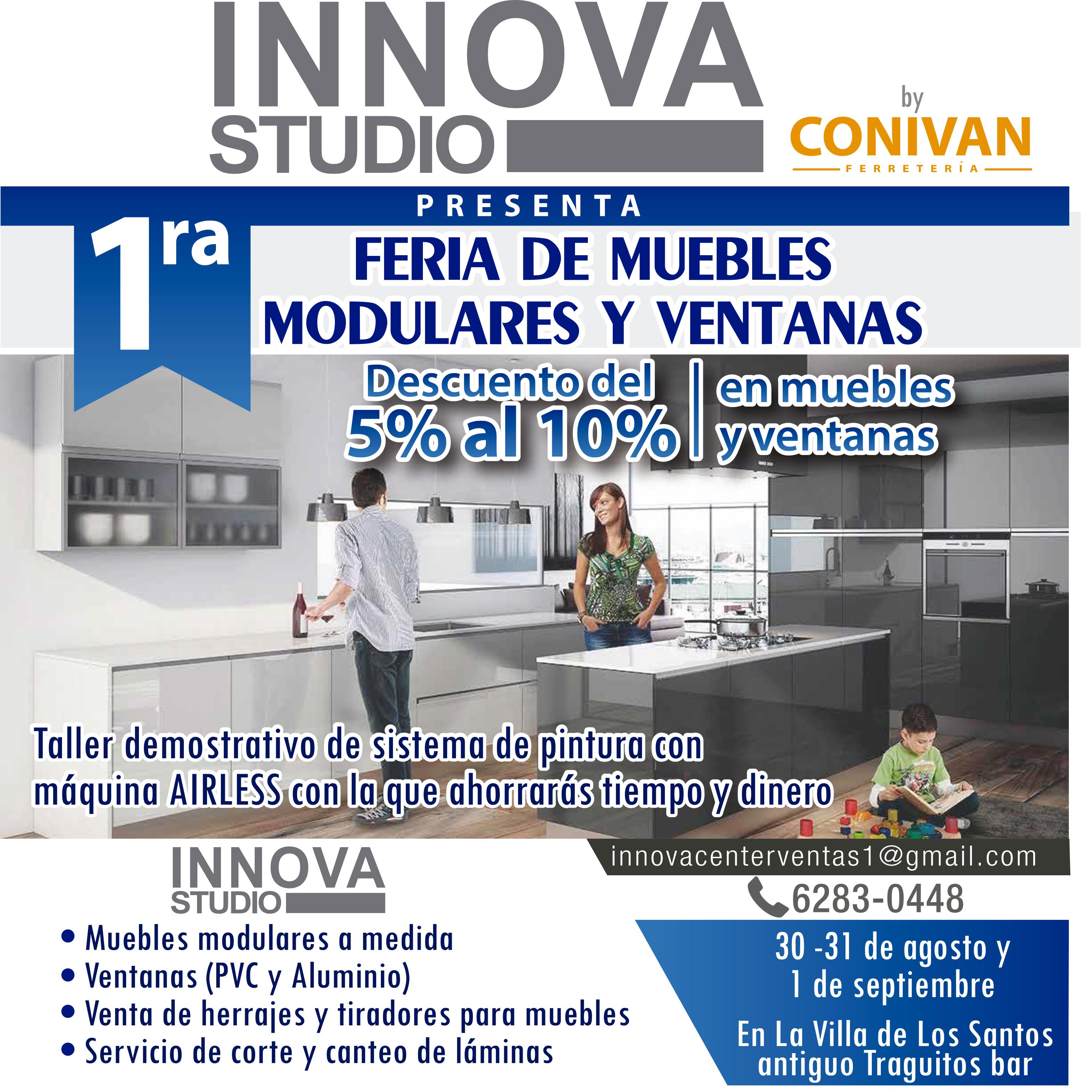 INNOVA STUDIO –  FERIA DE MUEBLES MODULARES Y VENTANAS
