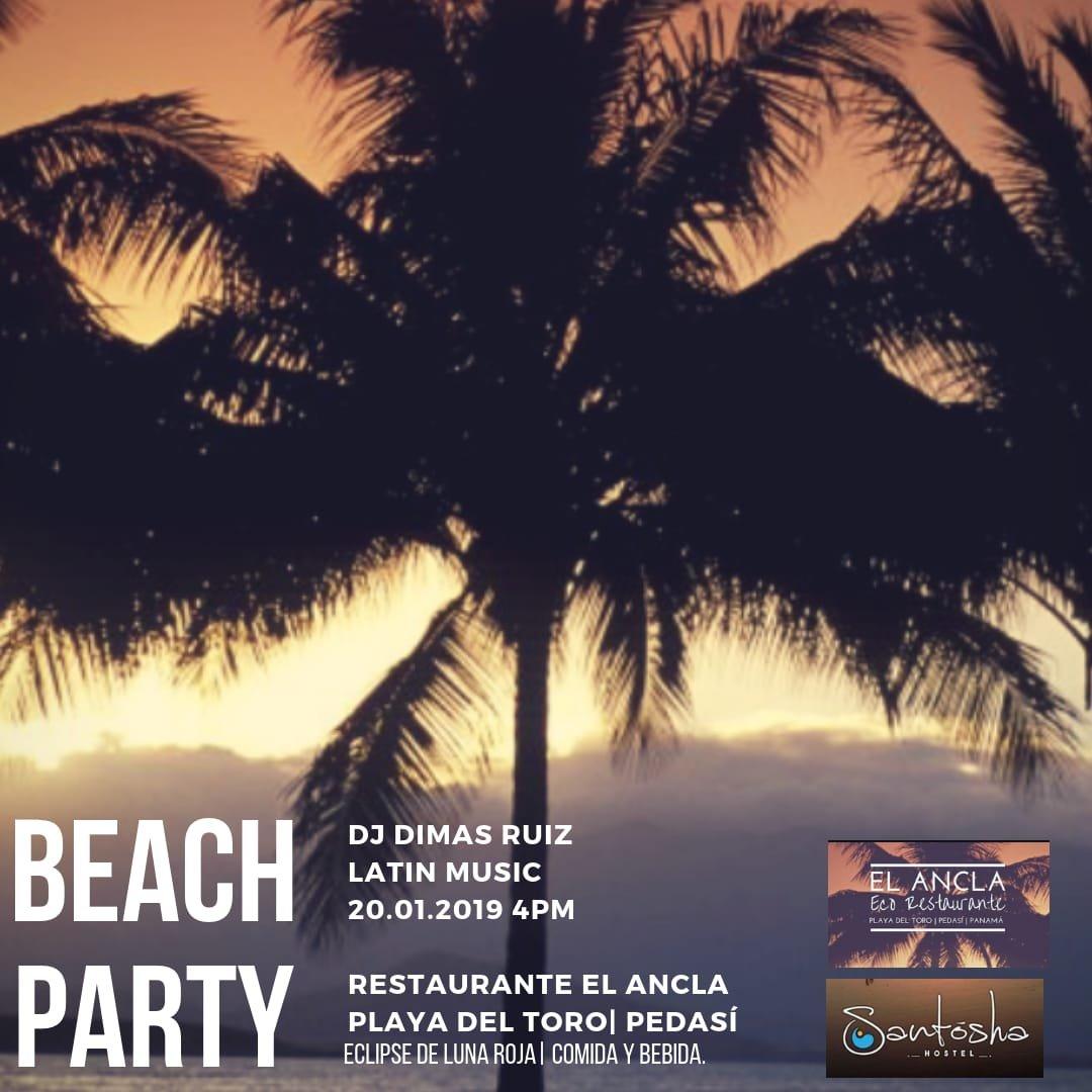 Beach party Pedasi