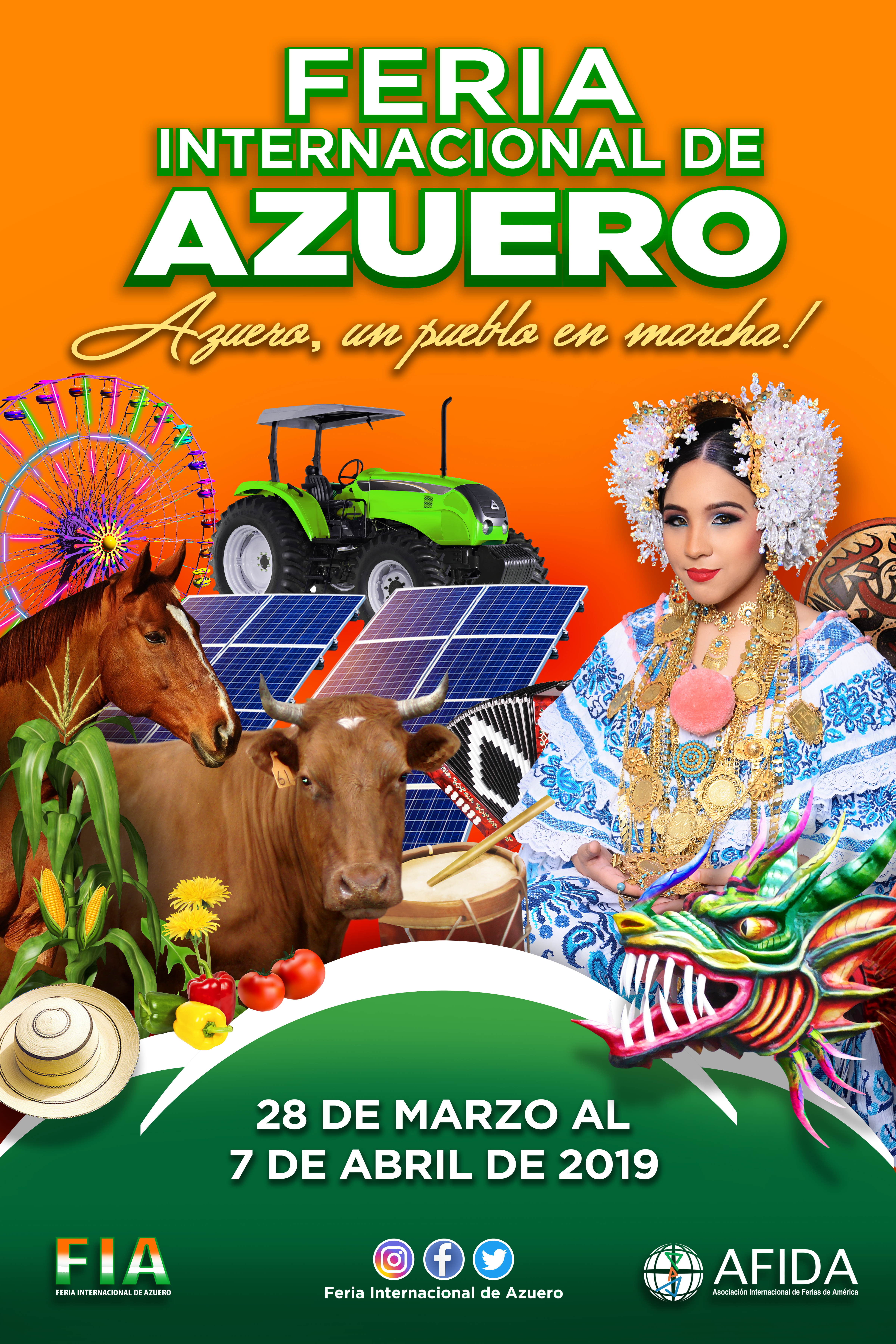 FERIA INTERNACIONAL DE AZUERO AZUERO, UN PUEBLO EN MARCHA