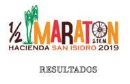 MEDIA MARATON HACIENDA SAN ISIDRO RESULTADOS