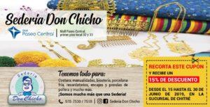 SEDERIA DON CHICHO ABRE EN CHITRE. BUSCA TU CUPON DE DESCUENTO DE UN 15% EN EL PERIÓDICO