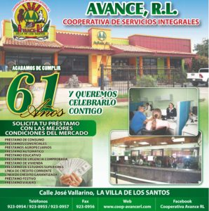 61 ANIVERSARIO DE LA COOPERATIVA AVANCE